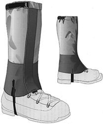 Patterns : Gaiters pattern / Shelby - Extreme Materials & Gear