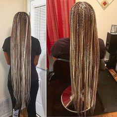 62 Box Braids Hairstyles with Instructions and Images - Hairstyles Trends Brown Box Braids, Colored Box Braids, Blonde Box Braids, Black Girl Braids, Braids Wig, Braids For Black Hair, Cornrows, Box Braids Hairstyles, Baddie Hairstyles