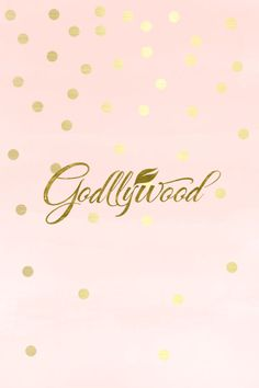 Godllywood Phone Wallpaper Gold and Pink