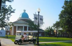 Golf carts   When a student comes for a tour at HPU, he or she is escorted by a university ambassador in an elongated golf cart. The golf carts are famous around campus, and everyone loves seeing them full of potential students.