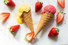 Obs sorbet, 17. mai - Obs: Smarthandel Sorbet, Mango, Strawberry, Baking, Fruit, Food, Manga, Bakken, Essen