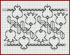 Brain Clutter: Blackwork pattern: Misc blackwork examples #3