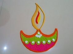 Special Rangoli Design 12 - YouTube