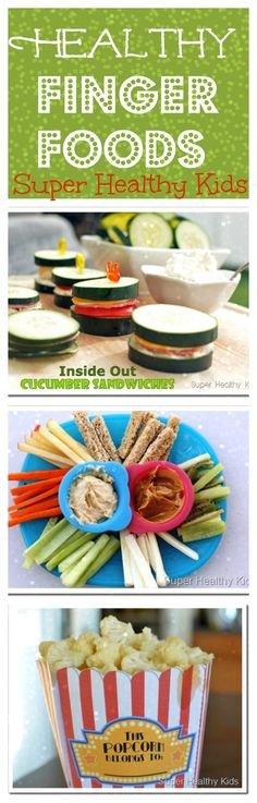 Healthy finger foods for toddlers!