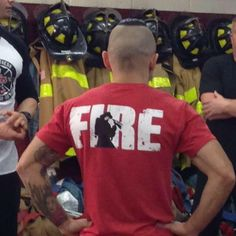 Jekyll Hyde Fire Shirt Collaborated with 555 Firefighter Fitness Firefighter Workout, Firefighter Shirts, No Equipment Workout, Fitness Equipment, Gym Fitness, Workout Belt, Clothing Company, Apparel Company, Train Hard