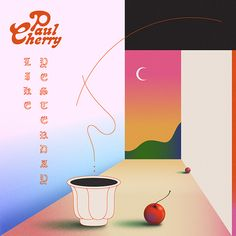 """Like Yesterday by Paul Cherry, released 06 November 2017 Like Yesterday Like Yesterday is the first single off Paul Cherry's debut LP """"Flavour"""" to be released in spring 2018 album artwork by Camilo Medina Graphic Design Posters, Graphic Design Illustration, Graphic Design Inspiration, Illustration Art, Color Inspiration, Japanese Graphic Design, Album Design, Grafik Design, Illustrations Posters"""