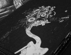 """Check out new work on my @Behance portfolio: """"Izanami & Izanagi"""" http://be.net/gallery/35125953/Izanami-Izanagi"""