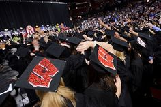It's that time of the year! Congratulations to all graduating from the University of Wisconsin!