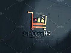 Shopping Logo by Josuf Media on @creativemarket