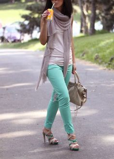 Love the color pants