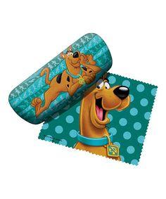 Loving this Scooby Doo Eyeglass Case & Cloth on #zulily! #zulilyfinds