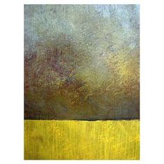 Bring gallery-worthy appeal to your walls with this artful canvas giclee print, showcasing a color-blocked motif. Made in the USA.   Product: Canvas giclee printConstruction Material: Cavnas and woodFeatures:   Reproduction of art by Michelle Calkins   Gallery-wrapped Color-blocked motifReady to hangMade in USA