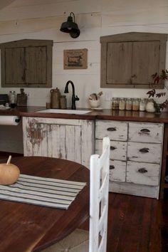60 elegant farmhouse kitchen furniture ideas on a budget (41)