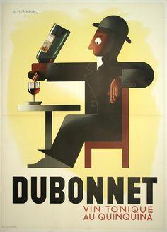 cassandre Dubonnet 1932