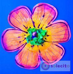 Flor de papel www.solecitoschool.com