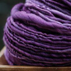 Tyrian - 90 yards Merino handspun yarn