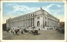 size: Art Print: General Post Office, New York City Poster : Entertainment General Post Office, Woolworth Building, Albany New York, Manhattan New York, New York Post, City Art, New York City, United States, Art Prints