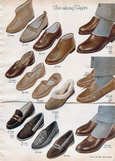 1950s Socks & Slippers: Styles, Trends & Pictures