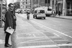 Roaming the Streets of Soho as I always do. I was lucky he was not in a hurry to cross the street.