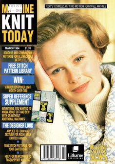 Machine Knit Today Magazine 1994.03 Free PDF Download 300dpi ClearScan OCR