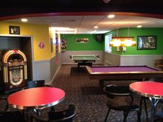Very cool game room