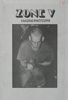 Minor Threat: Ian MacKaye, Zone V fanzine, 1983 Muse Music, Minor Threat, Carl Zeiss Jena, Post Punk, Graphic Art, Graphic Design, Reading, Fringes, Typo