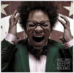 single cover art: marc sway - keep on walking [01/2013]