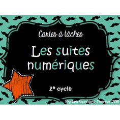 Cartes à tâches - Suites numériques Daily 3 Math, Math 2, 4th Grade Math, Fun Math, Math Games, Grade 2, Classroom Organization, Classroom Management, Math Patterns
