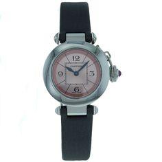 Cartier Women's W3140026 Pasha Classic Analog Watch: Watches