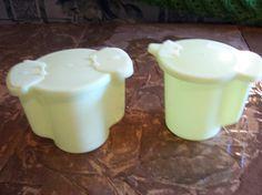 1970's Retro Vintage Light Yellow Tupperware by doyourememberwhen, $25.00