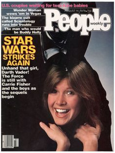 People Magazine August 14, 1978 -- Carrie Fisher and Darth Vader.