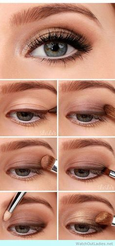 How to show off your blue eyes with this eye makeup tutorial
