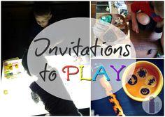 invitations to play reggio provocation kids