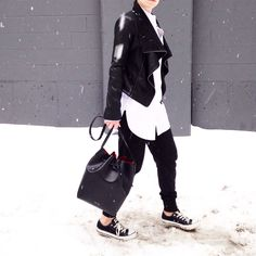 Black and white. - Fashionably.fit