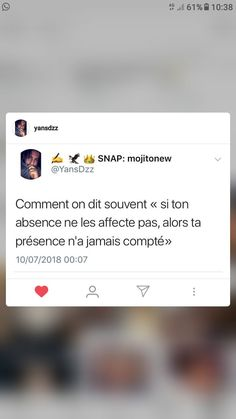 French Words, French Quotes, Citation Instagram, Snapchat Questions, Good Quotes For Instagram, Motivational Phrases, Love Yourself Quotes, Real Talk, Best Quotes