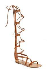 Valentino 'Rockstud' Tall Gladiator Sandal (Women)