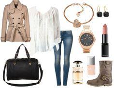Der perfekte Look für die Arbeit, ein Date oder Schule. Passt einfach zu allem :)