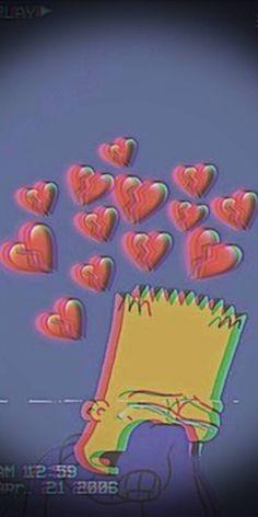 Bart Wallpaper, Simpson Wallpaper Iphone, Glitch Wallpaper, Dark Wallpaper Iphone, Cartoon Wallpaper Iphone, Mood Wallpaper, Iphone Wallpaper Tumblr Aesthetic, Iphone Background Wallpaper, Disney Wallpaper