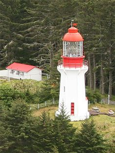 Langara Point Lighthouse, British Columbia Canada