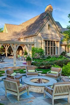 Beautiful patio from Hursthouse Landscape Architects and Contractors in Chicago, IL.