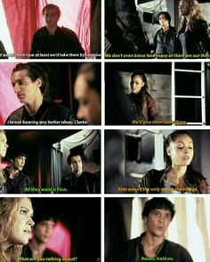 The 100 - Raven, Finn, Bellamy, Clarke and Murphy #Season2