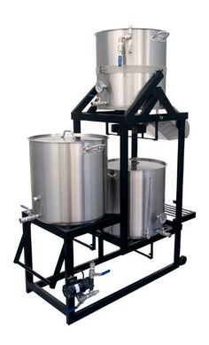 Serious about home brewing? My husband is, so he bought this brew system.