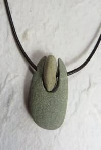 Cape Cod beach stone jewelry by KEM Designs
