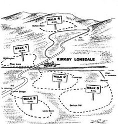 Lake District Walks | Lakes Walks | Lakeland Walks - Kirkby Lonsdale Walks