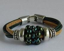 Vegan Bracelet* Vegan Jewellery * Cork Jewellery * Eco Friendly Jewellery *  Gift For