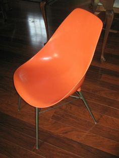 MidCentury Molded Chair by RestorationStyle on Etsy, $45.00