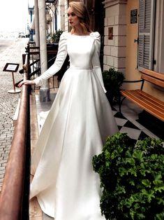 Wedding Dresses With Straps, Bohemian Wedding Dresses, Princess Wedding Dresses, Modest Wedding Dresses, Dress Wedding, Wedding Hijab, Floral Wedding, Rustic Wedding, Ball Dresses