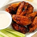 Sweet and Spicy Baked Chicken Wings Recipe | My Baking Addiction