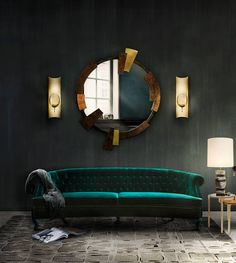 Not sure how to decorate your flat? Dark walls and low lights will do half of the work. A FU%&ING cool sofa will do the rest- #interior  #homefurnishing #homeadore #designinteriores #instainterior #homedecoration #instadecor #dreamroom #homedecore #housedecor #designinterior #homestyle #homedesign #homeaccents #decorhome #modernhome #interiordesignideas #interior123 #homedecor #interiorideas #homeideas #interiorstyle #interiorinspo #interiordesign #dreamhome #house #home #architecturelovers