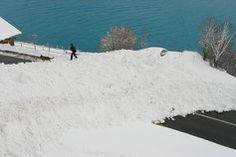 Die Hirscherenlawine Oberried bei Brienz Dezember 2012